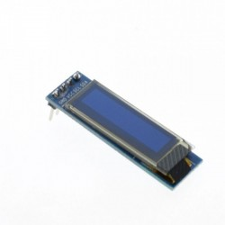"OLED 0.91"" I2C SERIAL White Display Module"