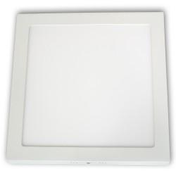 Plafon LED 24W / 230 V, kwadrat, natynkowy zimny