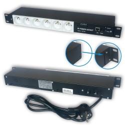 IP Power Socket 6G10A V2 WHITE SOCKET