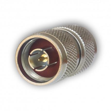 Barrel connector N-F / N-F
