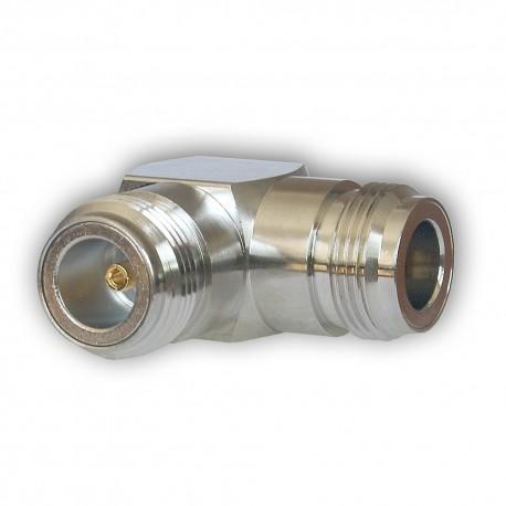 Barrel connector N-M / N-M