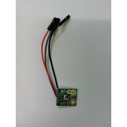 Czujnik natężenia prądu +15A -15A ACS711EX z wyprowadzonymi kablami