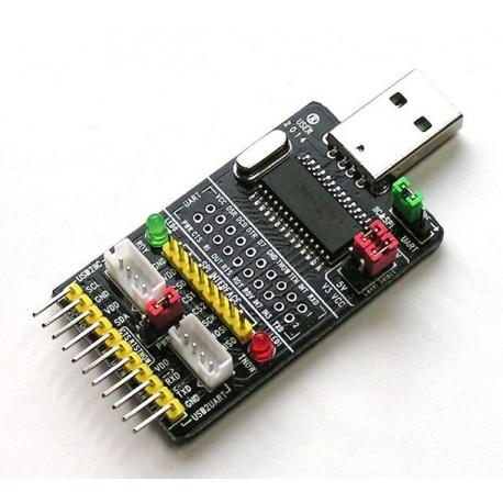 Konwerter USB to SPI I2C