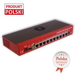 Zarządzalny Switch Gigabitowy z POE 1SFP10G