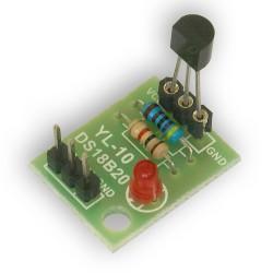 PCB dla DS18b20 Arduino