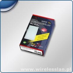 Interline Antena Sektorowa Dual Mini 2,4 GHz 8dBi