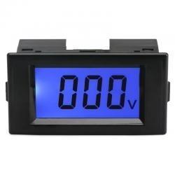 Woltomierz LCD z niebieskim podświetleniem 20V DC