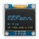 "Eco OLED 0.96"" I2C SERIAL Yellow Blue Display Module"