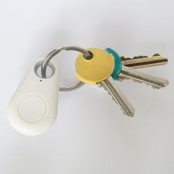 BRELOK LOKALIZATOR kluczy BLUETOOTH biały