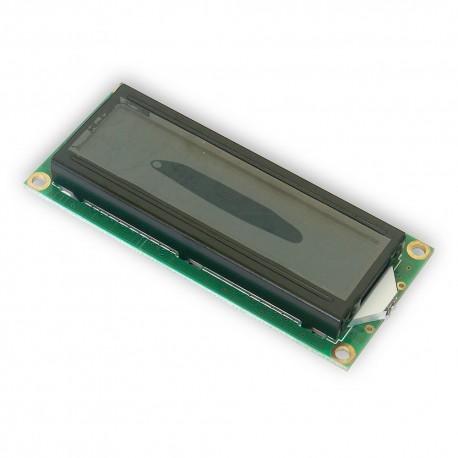 Wyświetlacz LCD 2x16 80x36mm niebieskie podświetlen