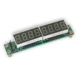 Wyświetlacza LED 2x po 8 cyfr ze sterownikiem MAX7219