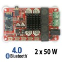 TDA7492P 50W+50W Wireless Bluetooth Audio Receiver Amplifier Board with AUX