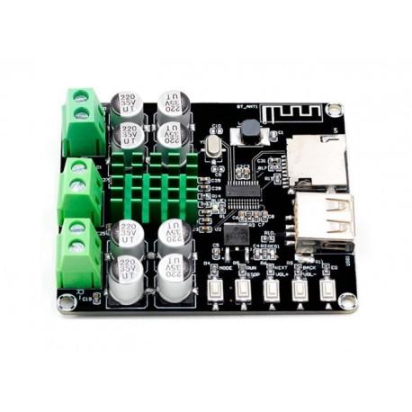 TPA3116D2 2x50W Audio Amplifier Board TF, USB