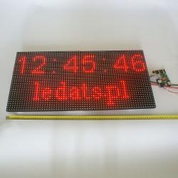 LED DOT MATRIX PANEL 32x16 P10 HUB12 RED THT