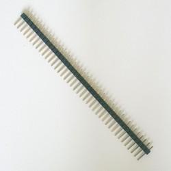 5 X ZŁĄCZE WTYK GOLDPIN 1x40 raster 2.54 mm CZARNY