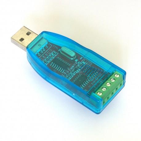 Konwerter USB-RS485 w obudowie