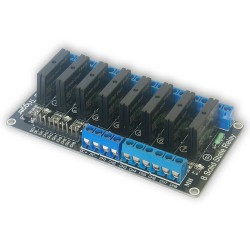 8 channel SSR relay module OMORON