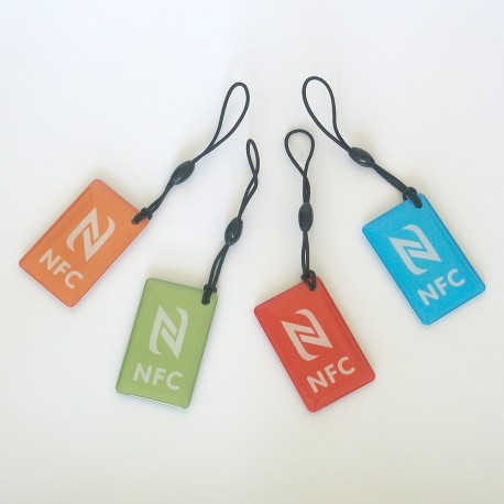 NFC NTAG216 NFC TAG color ( set 4pcs)
