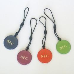 NFC NTAG216 NFC TAG color ( set 4pcs)