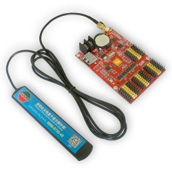 Moduł kontrolera LED HD-W63 USB + Wi-Fi