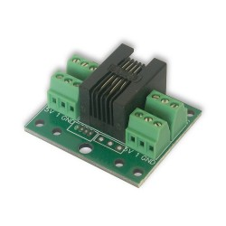 SPLITTER DS18B20 SENSOR FOR LAN Controller - Screw termina