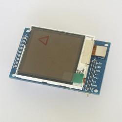 """LCD 1,6"""" SPI kolorowy wyświetlacz Arduino"""