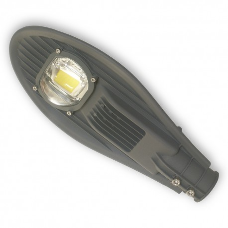 Lampa uliczna LED COB AC 30W/230V IP65 ODLEW SZARA