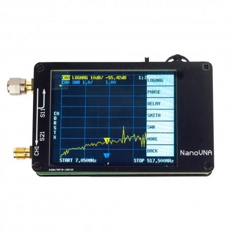 NanoVNA mini analizator antenowy 50 kHz ÷ 900 MHz