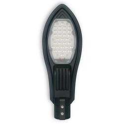 Lampa uliczna LED AC 30W/230V IP65 ODLEW CZARNA
