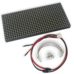 LED dot matrix 32x16 RGB 25x12cm module P8 HUB75 SMD
