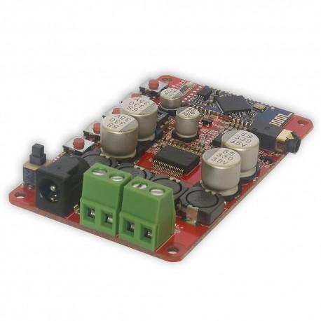 TDA7492P 25W+25W Wireless Bluetooth Audio Receiver Amplifier Board with AUX