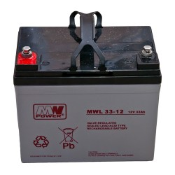 Akumulator MW Power MWL 33-12 (33Ah 12V)