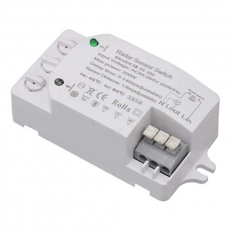 mikrofalowy czujnik ruchu zmierzchu AM-RS-06B