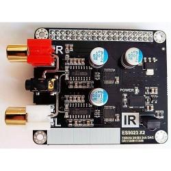 DAC ES9023 x2 audio Raspberry PI RCA