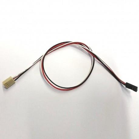 kabel ŻEŃSKI 4pin 2.54–2.54mm, 40cm