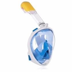 Pełnotwarzowa maska nurkowa z fajką rozm. S/M