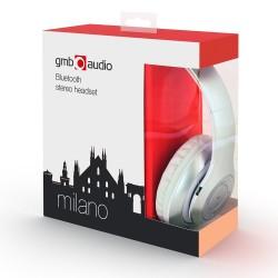 GEMBIRD słuchawki stereo Bluetooth z mikrofonem MILANO