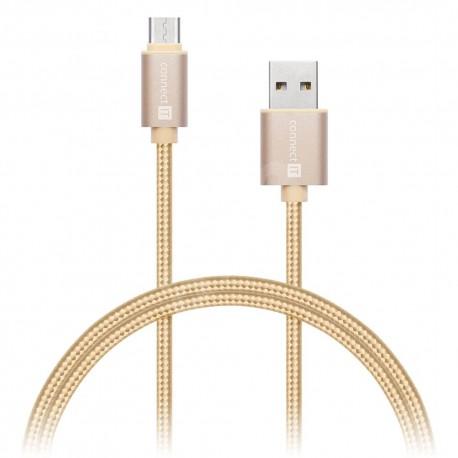 Kabel USB-A - USB-C, 1m Connetc IT