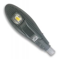 Lampa uliczna LED 50W/230V IP65 z czujnikiem zmierzchu SZARA
