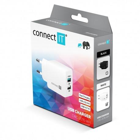 Power Suply USB 2x 5V / 2.1A , 1A
