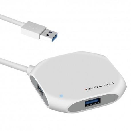 Kompaktowy hub BML 4hub USB 3.0