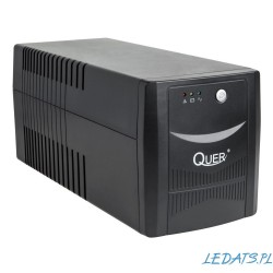 UPS Quer model Micropower 1000 (offline, 1000VA / 600W, 230 V, 50 Hz)