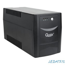 UPS Quer model Micropower 1500 (offline, 1500 VA / 900 W, 230 V, 50 Hz)