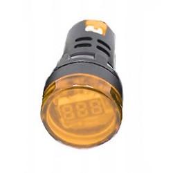 WOLTOMIERZ LED 60-500VAC 28mm żółty
