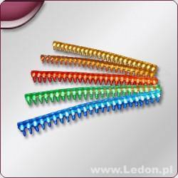 FLEX LED bursztynowy 24cm