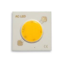 Dioda 7W LED COB 230V AC Ciepła
