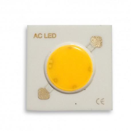 Dioda 7W LED COB 230V AC Zimna