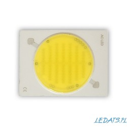 Dioda 30W LED COB 230V AC neutral