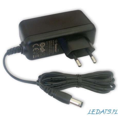 Power adapter 18V/0,7A to wall socket