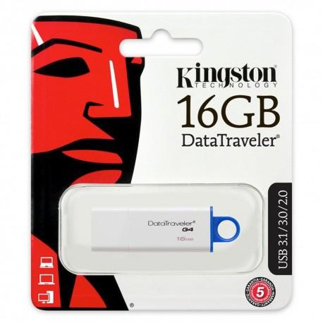 Kingston Pendrive 16GB DT100 Gen 3 USB 3.0